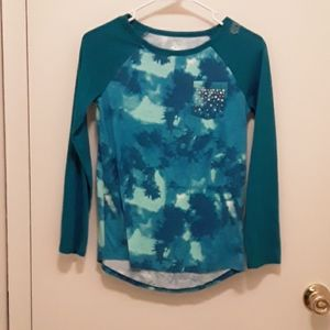 *3 for $8*Justice tie dye Top